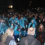 Blaue Sambagruppe Carolin Boesner