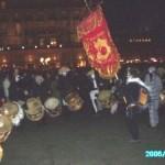 Samba mit Fahne, Michel Goupil