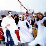 Fotos 1999: kleines Schiff: Warmtanzen an Deck, Ursel Boesner